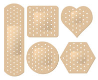 Adhesive Bandage Set Stock Photography