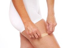 Adhesive bandage Royalty Free Stock Photography