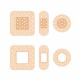 Adhesive bandages Royalty Free Stock Images