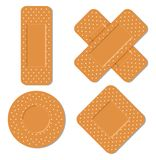 Adhesive bandages Royalty Free Stock Image