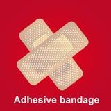 Adhesive bandge Stock Images