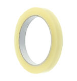Adhesive cellulose tape. Isolated on white background royalty free stock photo
