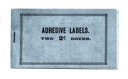 adhesive etiketter Royaltyfria Bilder