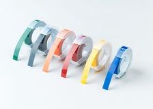 adhesive färgrikt band Fotografering för Bildbyråer
