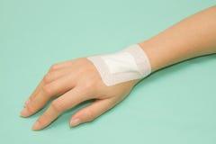 Adhesive Healing plaster Stock Image