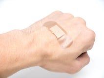 Adhesive Healing plaster Stock Photo