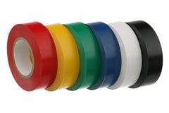 Adhesive insulating tape Royalty Free Stock Photos