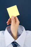 Adhesive Note Stock Photography