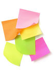Adhesive Note Papers Stock Photos
