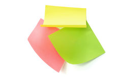 Adhesive Note Papers Royalty Free Stock Image