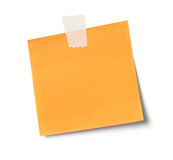 Adhesive note Royalty Free Stock Photography