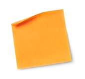 Adhesive note Stock Images