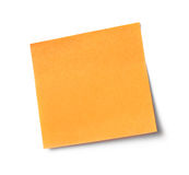 Adhesive note Royalty Free Stock Photo