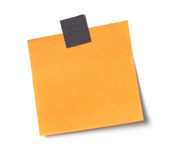 Adhesive note Royalty Free Stock Image