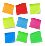 Adhesive note Royalty Free Stock Images