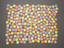 Adhesive Notes Royalty Free Stock Images