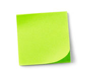 Adhesive notes Royalty Free Stock Photos