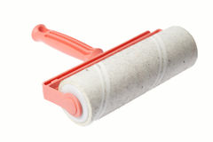 Adhesive roller Stock Image