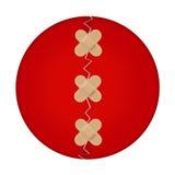 adhesive symbol chorągwiany japoński nagrywa trzy Obraz Royalty Free