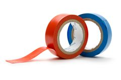 Adhesive tape Royalty Free Stock Photos