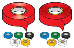 Adhesive tape collection Stock Image
