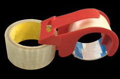 Adhesive tape with handler Stock Photo