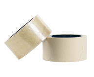 Adhesive tape isolated Royalty Free Stock Image