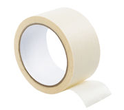 Adhesive tape isolated Stock Image