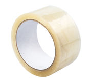 Adhesive tape isolated Royalty Free Stock Photo