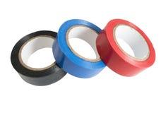 Adhesive tape isolated on white Stock Image