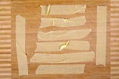 Adhesive tape parts royalty free stock image