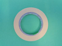 Adhesive tape roll Royalty Free Stock Photography