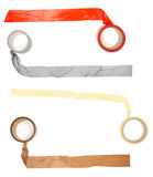 Adhesive tape stick piece Stock Images