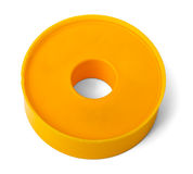 Adhesive tape on white Royalty Free Stock Images