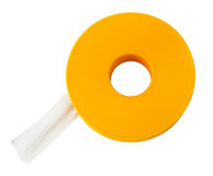 Adhesive tape on white Stock Images