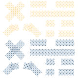 Adhesive tapes dotted Royalty Free Stock Photography