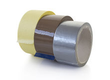 Adhesive tapes Stock Photography