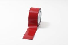 adhezyjna czerwona taśma Zdjęcie Stock