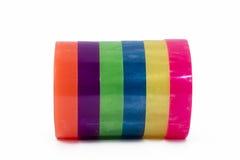 adhezyjna kolorowa taśma zdjęcia stock