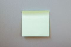 Adhezyjna notatka dla teksta na etykietce Fotografia Royalty Free