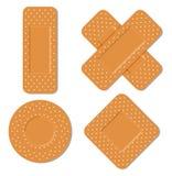 Adhezyjni bandaże Obraz Royalty Free