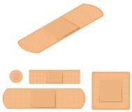 adhezyjni bandaże Fotografia Stock