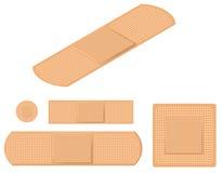 adhezyjni bandaże Zdjęcia Stock