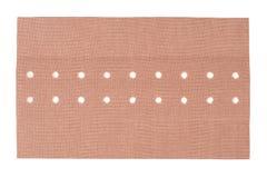 Adhezyjny bandaż na bielu Zdjęcia Stock