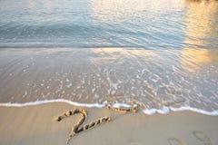 Adiós 2015 Fotos de archivo libres de regalías