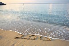 Adiós 2015 Imagenes de archivo