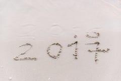 Adiós 2016 Fotos de archivo