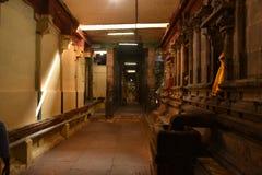 Adi Kumbeswarar świątynia, Kumbakonam, tamil nadu fotografia royalty free