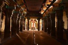 Adi Kumbeswarar świątynia, Kumbakonam, tamil nadu zdjęcie royalty free