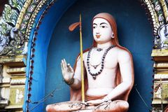 Adi Shankaracharya Stockbild